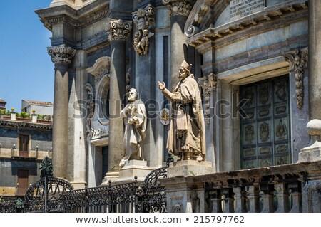 Catedral igreja sicília Itália cidade arte Foto stock © ankarb