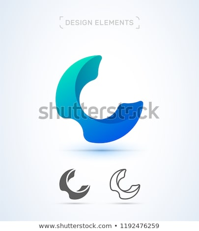 vector · resumen · origami · 3D · icono · logo - foto stock © Fractal86