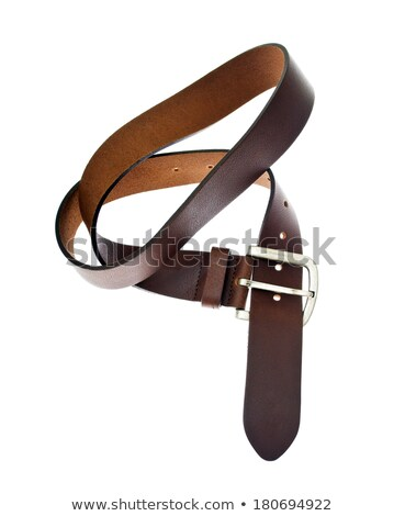 Four leather strap with buckles. Isolate Stock photo © RuslanOmega
