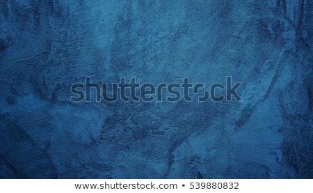 Grunge azul pintado pared textura mediterráneo Foto stock © lunamarina