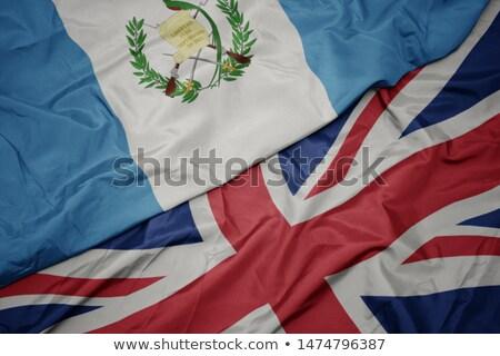 Zjednoczone Królestwo Gwatemala flagi puzzle odizolowany biały Zdjęcia stock © Istanbul2009