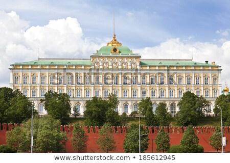 palácio · céu · edifício · cidade · paisagem · beleza - foto stock © paha_l