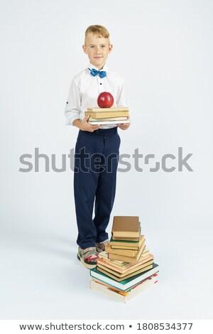 успех мальчика ребенка спортивных молодые белый Сток-фото © Paha_L