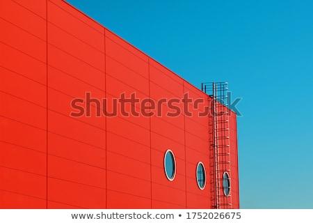 Industrial facade Stock photo © pedrosala