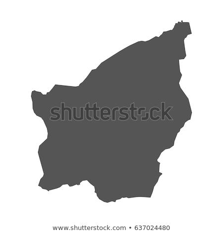 карта Сан-Марино синий вектора изолированный Сток-фото © rbiedermann