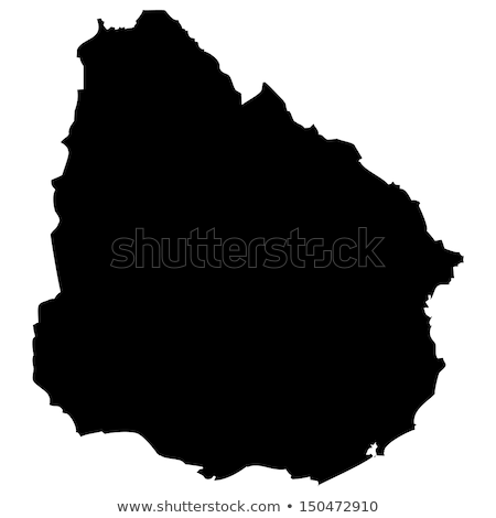 Térkép Uruguay háttér izolált illusztráció Stock fotó © rbiedermann