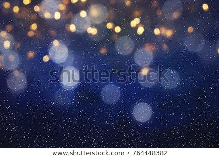 fallen · Konfetti · isoliert · weiß · Hintergrund · blau - stock foto © stephanie_zieber