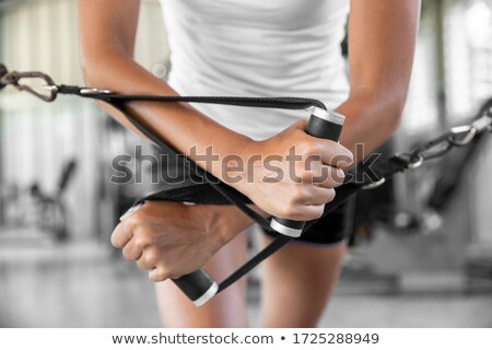 Chest Workout With Cables Stock photo © Jasminko