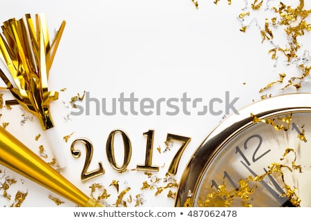 new year 2017 clock concept stock photo © ivelin