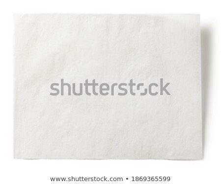 clean sheet of paper - cooking recipes stock photo © superelaks