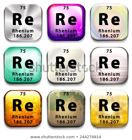 Periódusos rendszer mutat oktatás fehér kémia grafikus Stock fotó © bluering