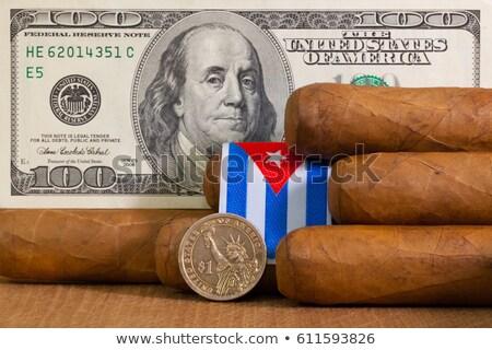 роскошь кубинский доллара банкнота монеты Сток-фото © CaptureLight
