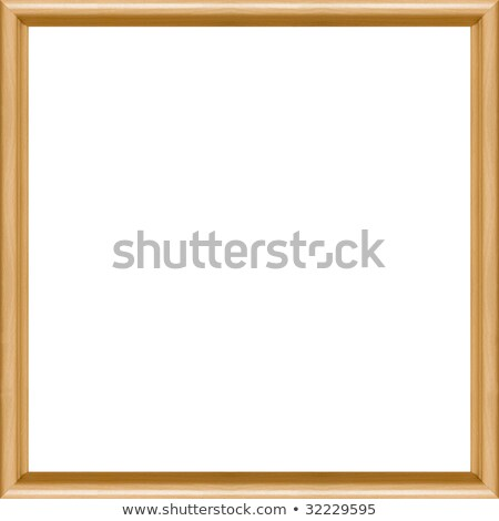 Square Moulded Beech Picture Frame Stock photo © peterguess