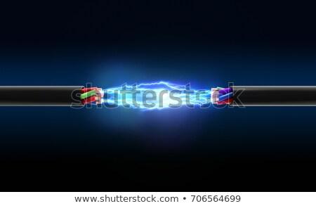 high-voltage wire Stock photo © justinb