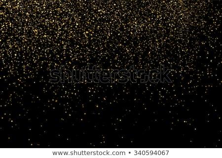 nieuwjaar · goud · schitteren · vakantie · vallende · ster · gelukkig · nieuwjaar - stockfoto © beholdereye