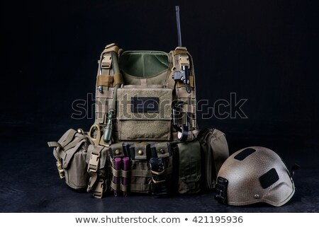 military equipment and ammunition  Stock photo © OleksandrO