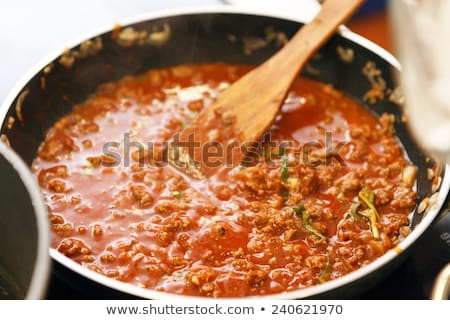 Ragu Sauce in a Saucepan Stock photo © monkey_business