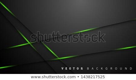 エメラルド · 緑 · 抽象的な · 低い · ポリゴン · スタイル - ストックフォト © tasipas