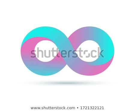 無限 · リング · 3D · レンダリング · 無限大記号 - ストックフォト © albund