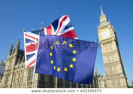 Евросоюз референдум флагами текстуры евро стране Сток-фото © tkacchuk