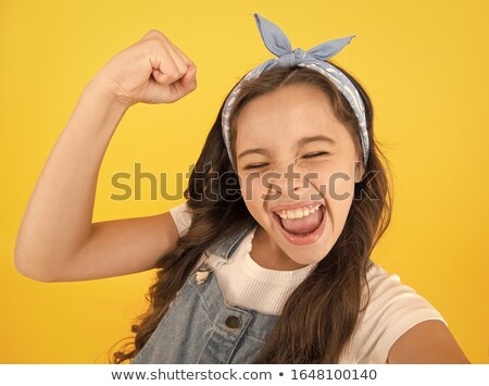 Strong emotions. Stock photo © Fisher