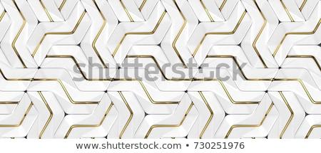 white shades panels pattern illustration Stock photo © alexmillos