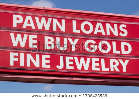 Advanced pawn. Stock photo © Fisher