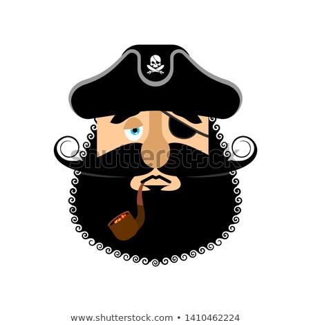 mascotte · schip · illustratie · cruise · scheepvaart - stockfoto © popaukropa