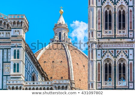 mimari · detay · Floransa · zengin · sütunlar · duvar - stok fotoğraf © wjarek