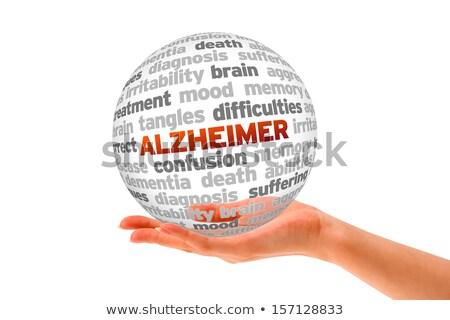 maladie · d'alzheimer · perte · de · mémoire · démence · cerveau · maladie · résumé - photo stock © tashatuvango
