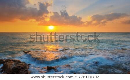 park · tájkép · csodálatos · tengeri · kilátás · hullámok · nagy - stock fotó © xuanhuongho