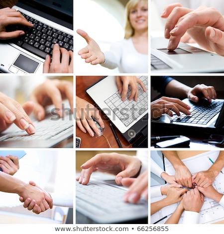 Team Management CloseUp of Keyboard. Stock photo © tashatuvango