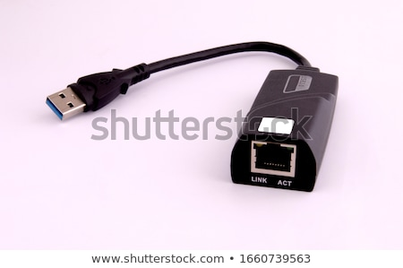 USB to UTP cable converter Stock photo © clarion450
