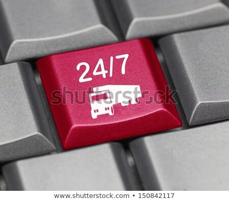 24 entrega teclado clave moderna Foto stock © tashatuvango