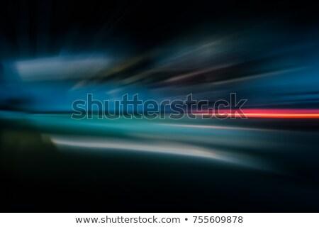motion blur in futuristic tunnel  Stock photo © ssuaphoto