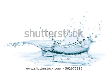 Wave with drop on white background Stock photo © Ecelop