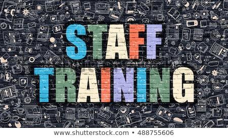 kompetencia · szófelhő · csapat · erő · támogatás · vezetőség - stock fotó © tashatuvango