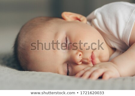 Close up of baby?s face Stock photo © IS2