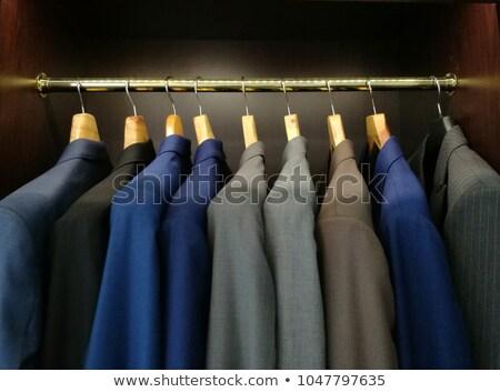 Klasik suit asılı satış erkekler Stok fotoğraf © Virgin