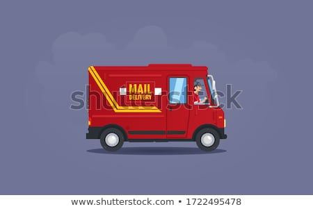 illustration of england lorry Stock photo © get4net