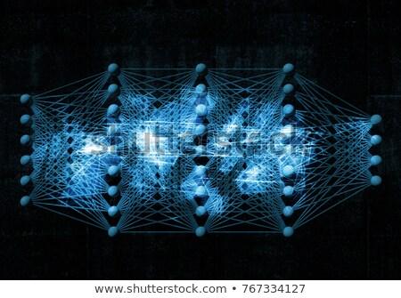 Artificial neural network concept Stock photo © stevanovicigor
