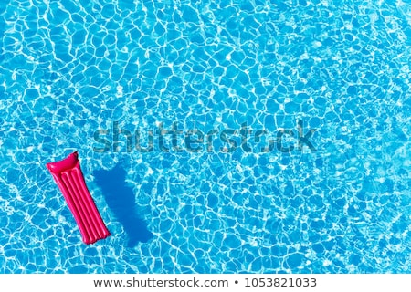 Opblaasbare matras zwembad oppervlak outdoor Stockfoto © stevanovicigor