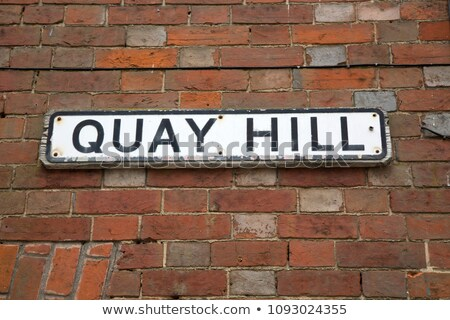Quay Hill in Lymington, UK stock photo © smartin69