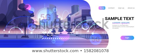 Stockfoto: Netwerk · draadloze · snel · telecommunicatie · wifi · cellulaire