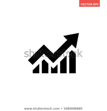 traçar · ícone · vetor · isolado · branco - foto stock © smoki