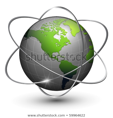 wereldbol · schone · witte · wereld · aarde · kunst - stockfoto © kyryloff