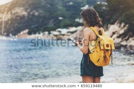 лет · праздников · пляж · волна · Surfer · вектора - Сток-фото © margolana