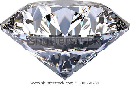 kusursuz · elmas · büyük · beyaz - stok fotoğraf © alexmas