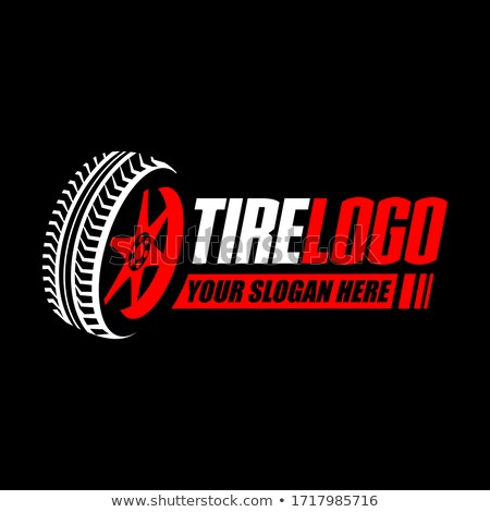wheel tire logo icon vector sign element symbol Stock photo © blaskorizov