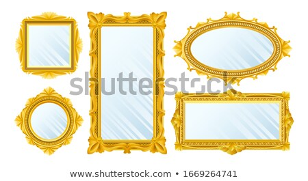 Photo stock: vector royal object mirror